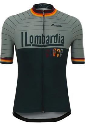 Santini Forma Lombardia Siyah-Gri