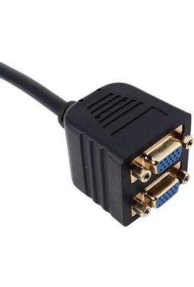 Alfais 4707 Vga Y Kablosu Çoklayıcı Switch Splitter