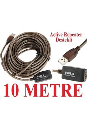 Alfais AL-4637 Aktif USB Uzatıcı Uzatma Kablosu 10 Metre