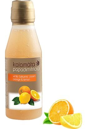Kalamata Papadimitriou Portakal & Limon Aromalı Balzamik Sos, 250ml