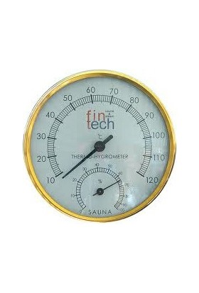 Fintech Sauna Higrometre Termometre Kombine