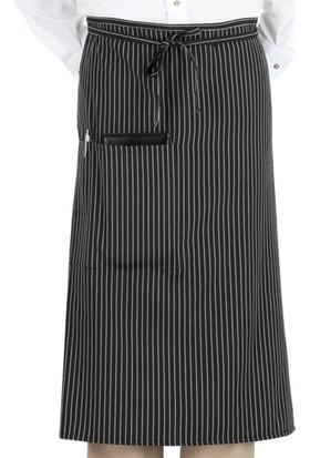 Salon Giyim Belden Bağlamalı Uzun Garson Önlüğü BU02 - 5 adet