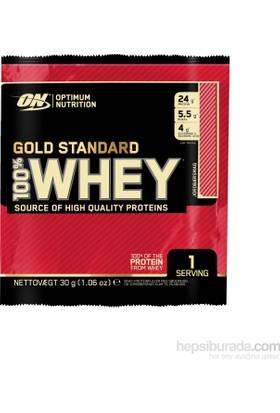 Optimum Nutrition Sachet - 100% Whey Gold Std - Chocolate / 24 Adet Porsiyon Paket