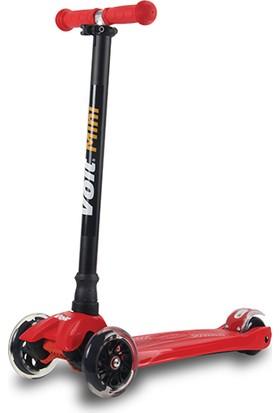 Voit 218 Işıklı 3 Teker Scooter Kırmızı