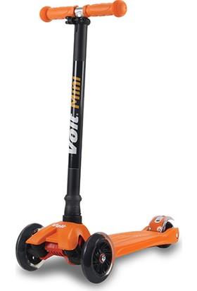 Voit 218 Işıklı 3 Teker Scooter Turuncu