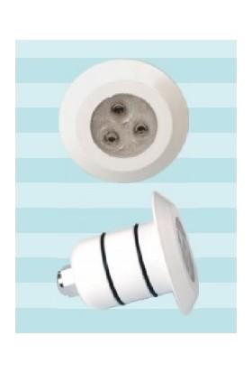 Poolline Boru Tip 12V 3.5W Plastik Power Led Beyaz Havuz Lambası