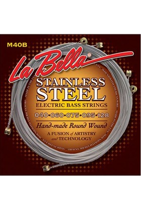 Gitar Aksesuar Bas Tel Labella 5 Telli M40-B 40-128