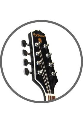 Mandolin Profesyonel Extreme Siyah XM60BK