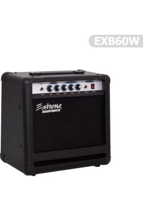 Extreme Amfi Bas Gitar EXB60W