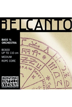 Kontrbas Aksesuar Belcanto Tel Orkestra Thomastik Infeld BC600
