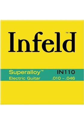 Gitar Aksesuar Elektro SuperAlloy Tel Thomastik Infeld IN110