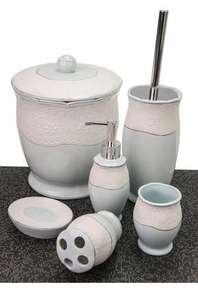 Mukko Home Porselen 6 Parça Banyo Setı
