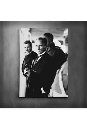 Dekolata Atatürk Dürbün Kanvas Tablo
