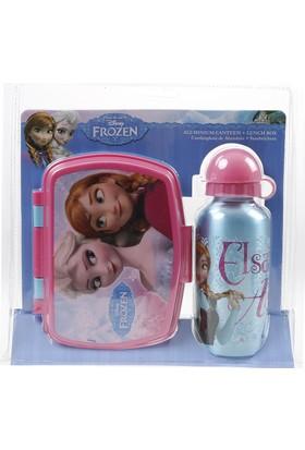 Disney Frozen Aluminyum Matara Ve Kutu Set