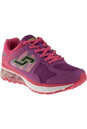Jump 12691 Bağlı Fuşya Kadın Spor Ayakkabı