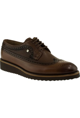Fosco 7061 Bağlı Klasik Taba Erkek Ayakkabı