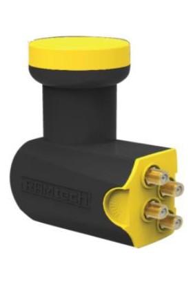 Ramtech Dörtlü Lnb Gold Başlıklı Fullhd 3D Ve 4K Uyumlu