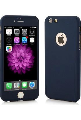Case 4U Apple iPhone 6 Plus/6S Plus Kılıf 360 Derece Koruma Siyah