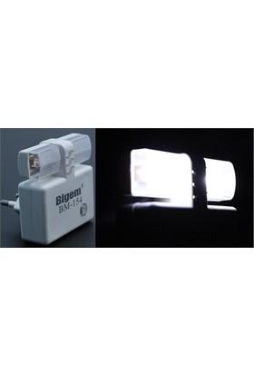Bigem Piranha Ledli Sensörlü Gece Lambası 091164 6Lı Paket