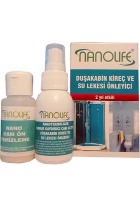 Nanolife Duşakabin 2 Yıletkili Su Kaydırıcı / Kireç Lekesi Önleyici 09C056 6Lı Paket