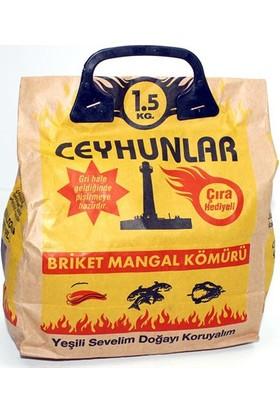 Ceyhunlar Mangal Barbekü Kömürü 1,5 Kg 010137 6Lı Paket