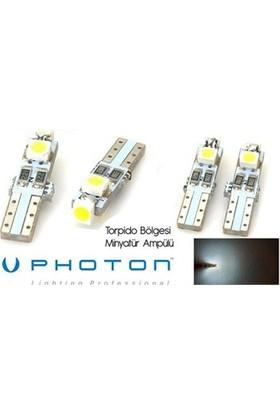Photon T5 Tip Torpido Bölgesi 3 Smd Beyaz Ledli Ampül 85D7003