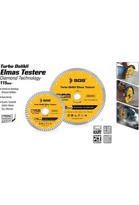 Sgs Turbo Delikli Elmas Testere 115 Mm 375555