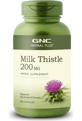 GNC Milk Thistle-Deve Dikeni Tohumu 200mg 90 Kapsül
