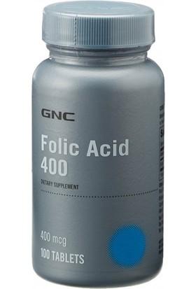 GNC Folic Acid 400 100 Tablet