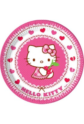 Partiland Hello Kitty Tabak 8 Adet 23 Cm