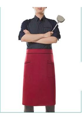Salon Giyim Belden Bağlamalı Garson ve Servis Önlüğü FR23 - 5 adet