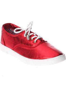 Esem K227 Günlük Giyim Kadın Ayakkabı Kırmızı