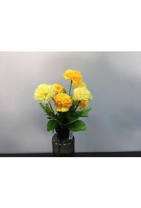 Setabianca Yapay Çiçek Çim Topu 31 cm