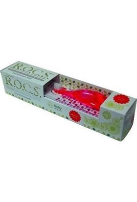 Rocs Baby 0-3 Yaş Diş Macunu Ve Diş Fırçası Seti