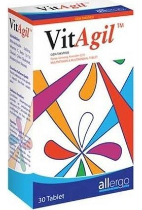 Allergo Vitagil 30 Kapsül