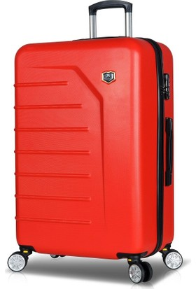 My Valice Premium Abs Büyük Boy Valiz Kırmızı