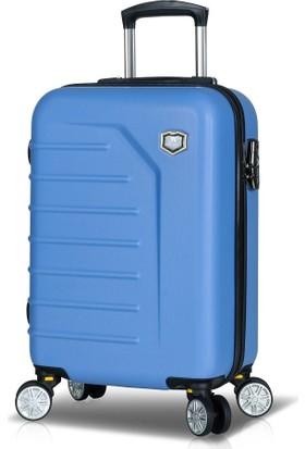 My Valice Premium Abs Kabin Boy Valiz Açık Mavi
