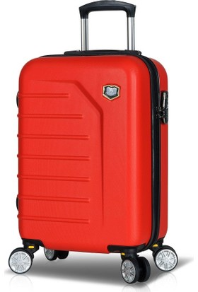 My Valice Premium Abs Kabin Boy Valiz Kırmızı