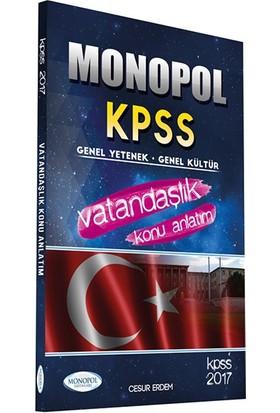Monopol Yayınları 2017 Kpss Vatandaşlık Konu Anlatım
