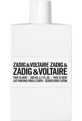 Zadig & Voltaire This Is Her! Body Lotion 200 ml - Vücut Losyonu