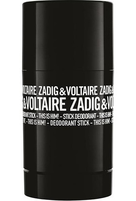 Zadig & Voltaire This Is Him! Deodorant Stick 75 gr - Erkek Stick