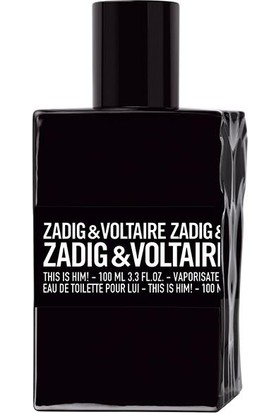 Zadig & Voltaire This Is Him! EDT 100 ml - Erkek Parfümü