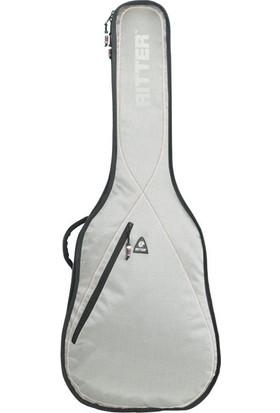 Ritter Rgp2-B-Srw Bas Gitar Kılıfı (Silver Grey - Red - White)