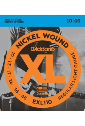 Daddario Exl110 Xl Regular Light 0.10-0.46