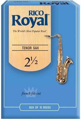 Rico Royal D'Addario Woodwinds Royal Tenor Saksafon Kamışı No: 2,5