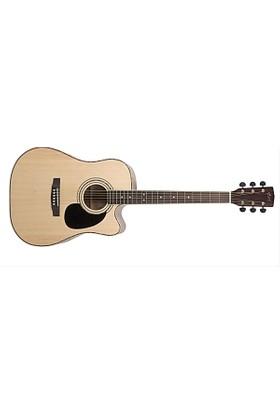Cort Ad880Censw Elektro Akustik Gitar (Kılıflı)