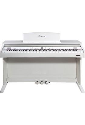 Ringway Tg8867-Whp Parlak Beyaz Dijital Piyano