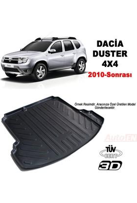 AutoEN Dacia Duster 4X4 3D Bagaj Havuzu 2010 ve üzeri