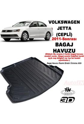 AutoEN VW Jetta 3D Bagaj Havuzu 2011- (Cepli)
