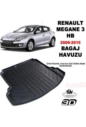AutoEN Renault Megane 3 HB 3D Bagaj Havuzu 2009-2015